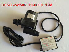 High Pressure Pump 1560LPH 15M High Lift, 5-24V DC Submersible Small Water Pump