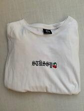 Stüssy Cherry T Shirt XL cremefarbig selten getragen