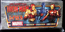 Iron Man 3 pack Bust Statue Set Bowen Designs Marvel Comics Classic Stealth 2020