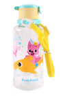 Pinkfong Baby Shark Family BPA FREE Straw Water Bottle With Strap 12.8oz 380ml