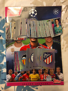 TOPPS UEFA CHAMPIONS LEAGUE 2019/20 EMPTY STICKER ALBUM + 300 DIFFERENT STICKERS