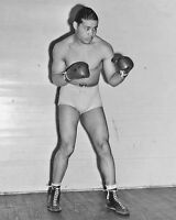 1939 Champion Boxer JOE LOUIS Glossy 8x10 Photo Glossy Print Boxing Poster