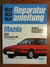 MAZDA 323 ab 1989 - Band 1032 1033 1034 - Reparaturanleitung Bucheli