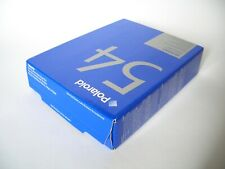 POLAROID 54 Instant Sheet Film Exp 05/2008 / 4x5 Black & White / 20 Fotos Typ 55