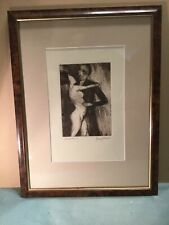 Garry Shead Dancers Edition 1 Framed Sepia Etching