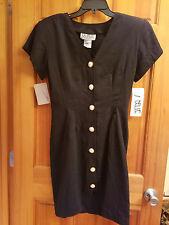 NWT WOMENS BLACK DRESS SIZE 7  BY LA BELLE FASHION