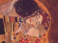 The Kiss Gustav Klimt Fine Art CANVAS Print Wall Poster Print Decor Small 8x10