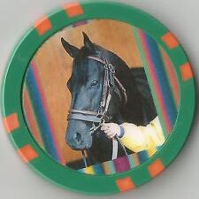**SPEND A BUCK** DERBY WINNER   HORSE RACING  COLLECTOR CHIP