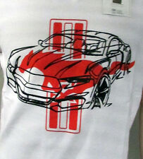 maglietta Ford Mustang bianco con rosso Pony taglia XL 35021271