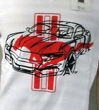 Camiseta T-Shirt Ford Mustang blanco con rojas Pony Talla 3XL 35021273