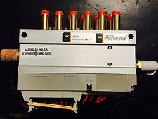 *New* Smc Us8772 6 Station Pneumatic Manifold Assembly