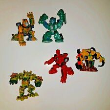 Transformers Robot Heroes 5 FIGURE LOT Long Haul Mudflap Rampage Springer ++
