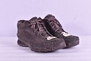 Women's Skechers Bikers Totem Pole Chukka Boots, Chocolate Brown, 8.5W