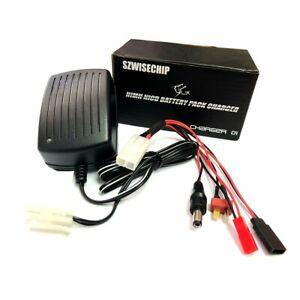 Only Nimh, Nicd Battery Pack Fast Charger 3~9 Cells (3.6V, 4.8V, 6V, 7.2V, 8.4V,