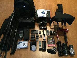 Sony Alpha DSLR A7RII A7R II 42.4MP 4K Full Frame,Digital SLR CameraW/MATTBOX