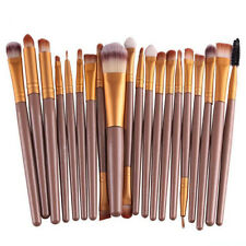 Professional Ladies 20 Piece Make Up Brush Set Cosmetic Brushes Purple QH66