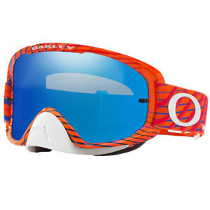 Oakley O-Frame 2.0 MX Goggles Troy Lee Designs Tremor POG Black Ice & Clear Lens