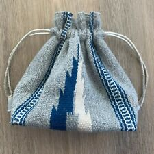 Vintage Chimayo Hand Woven Purse Drawstring Bag