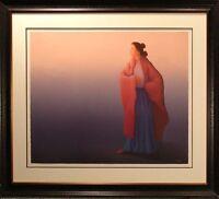 R.C.Gorman Sunrise framed Original Lithograph 1990 Hand Signed LE MAKE OFFER