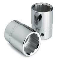 "Sk Hand Tool  Llc 47168 2-1/8"" 12 Point Standard Socket 3/4"" Drive"