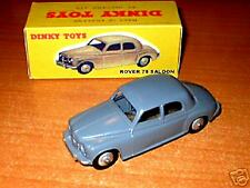 Dinky #156   Rover 75 saloon  excellent but restored in a repro box