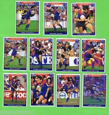 1993  NEWCASTLE KNIGHTS  RUGBY LEAGUE CARDS