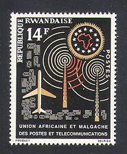Rwanda 1963 Plane/Radio Mast/Communications/Mail/Post/Transport 1v (n33990)