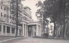 Antique POSTCARD c1907-15 Porte Cochere Hotel Aspinwall LENOX, MA Unused 14180
