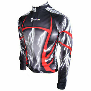 "Franklin Cycling Jersey / Thunderstruck / UK size XL(42-43""chest) / Long sleeve"