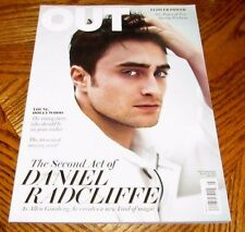 OUT Magazine DANIEL RADCLIFFE As Allen Ginsberg #222 March 2013