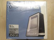 Maxtor OneTouch 4 Plus 250GB External Hard Drive
