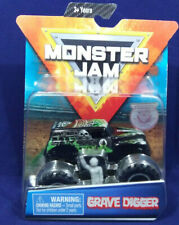 MONSTER JAM GRAVE DIGGER OVER CAST W/GRAY FIGURE & POSTER NEW! SPIN MASTER 2019