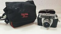 Vintage Halina Paulette Electric 35mm Film Camera with case spares repairs
