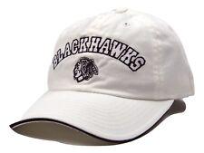 Chicago Blackhawks American Needle NHL Cabana Adjustable White Hockey Cap Hat