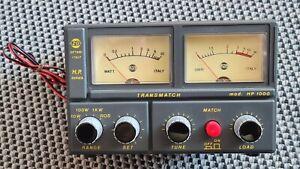 ZETAGI mod. HP 1000 Transmatch SWR/PWR-Messgerät 26-28 MHz 10W 100W 1KW