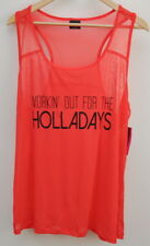 Material Girl Active Womens Athletic Tank Top Juniors Size 2X New