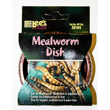 Lee's Mealworm Dish Livefood Reptiles Lizard Bugs Worms Crickets Locusts Gecko