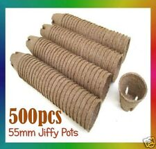 Jiffy Pots - 55mm Round x 500pcs  - Propagation, Seedling, Herbs, Veggie