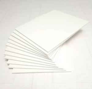 """Ten -  Foam Board Sheets Nucore White 32"""" x 40"""" (812 mm x 1016 mm) 3 mm or 5 mm"""