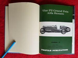 3 x Profile Publications no10 Bugatti 35, no18 Delage, no87 GP Alfa Romeo, Bound