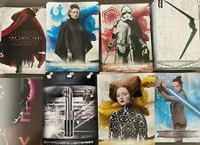 Star Wars The Last Jedi Series 2 Inserts  (FO, RS, IA, CB, TP, SV, REY) U-Pick-1