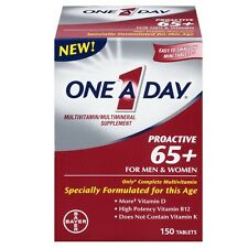 One A Day Proactive 65+ Multivitamin/Multi-Mineral Tablets 150 ea