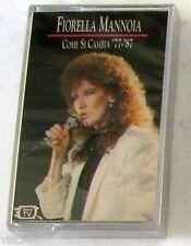 FIORELLA MANNOIA - COME SI CAMBIA '77 '87' - Musicassetta Sigillata MC K7