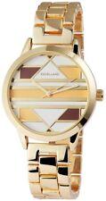 Women's Watch White Beige Gold Analogue Quartz Metal Modern G-151007000016600