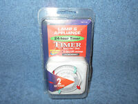 INTERMATIC TN111C 15AMPS HEAVY DUTY LAMP & APPLIANCE 24 HOUR TIMER - NEW IN PKG