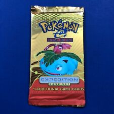 Pokemon Expedition Booster Pack New Factory Sealed (Venusaur)