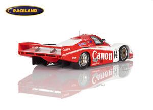 Porsche 956 Richard Lloyd Canon Le Mans 1985 Palmer/Weaver, Spark 1:43, S9864