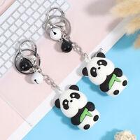 1Pc Cute Keychain Metal Jewelry Animal Panda Keychain Bag Ornaments Accessor YAN