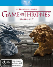 Game of Thrones Complete Series Season 1, 2, 3, 4, 5, 6 & 7 Blu ray Box Set RB