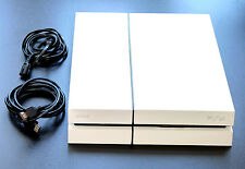 PLAYSTATION 4 KONSOLE 500GB EDITION WEISS + KABEL + HDMI PS4 white 500 GB #2